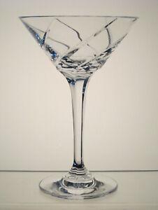 OLYMPUS-MIKASA-CRYSTAL-Martini-Glass-6-3-4-034