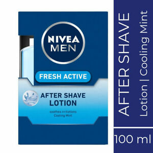Nivea-Men-Fresh-Active-Aftershave-Lotion-100ml-Cooling-Mint-Soothes-Irritation