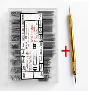 Watchmaker-Watch-Band-Spring-Bars-Strap-Link-Pins-Remover-Steel-Repair-Kit-Hot