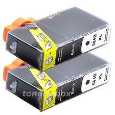 2pk Generic 564XL Black Ink For Deskjet 3070a 3520 3521 3522 3526 SHOW INK LEVEL