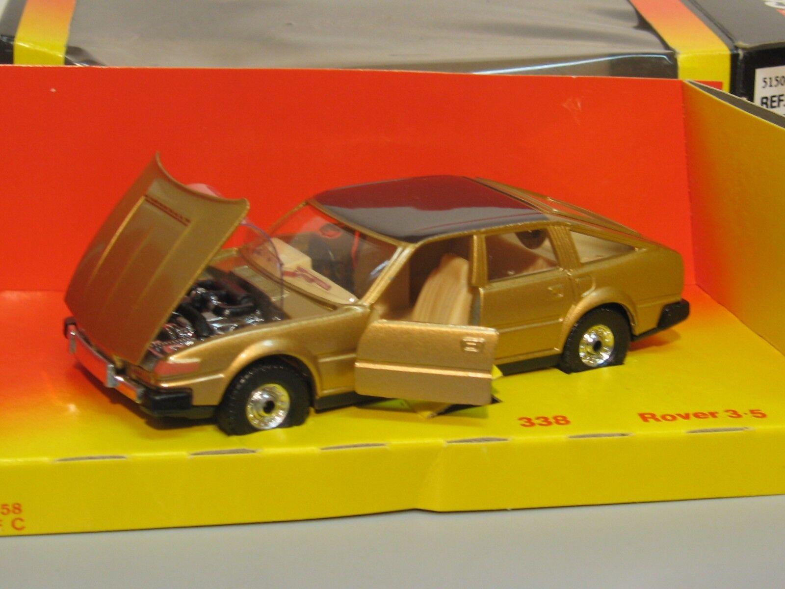 CORGI 338 ROVER SD1 3500 BRONZE 1981 BOITE NEUVE