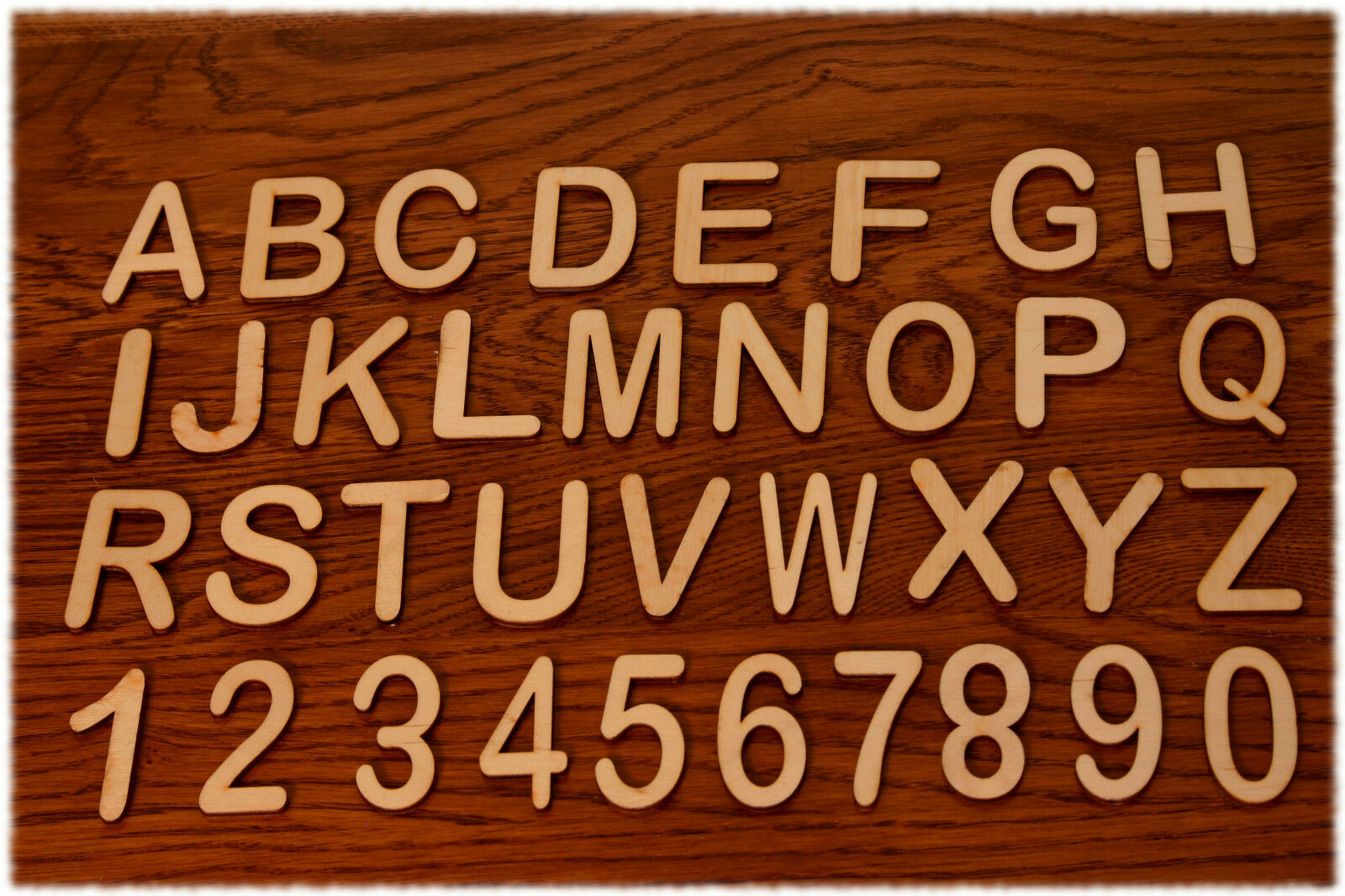 Holzbuchstaben A-Z  Holzzahlen 0-9  5cm 10cm hoch  zum Basteln Dekorieren