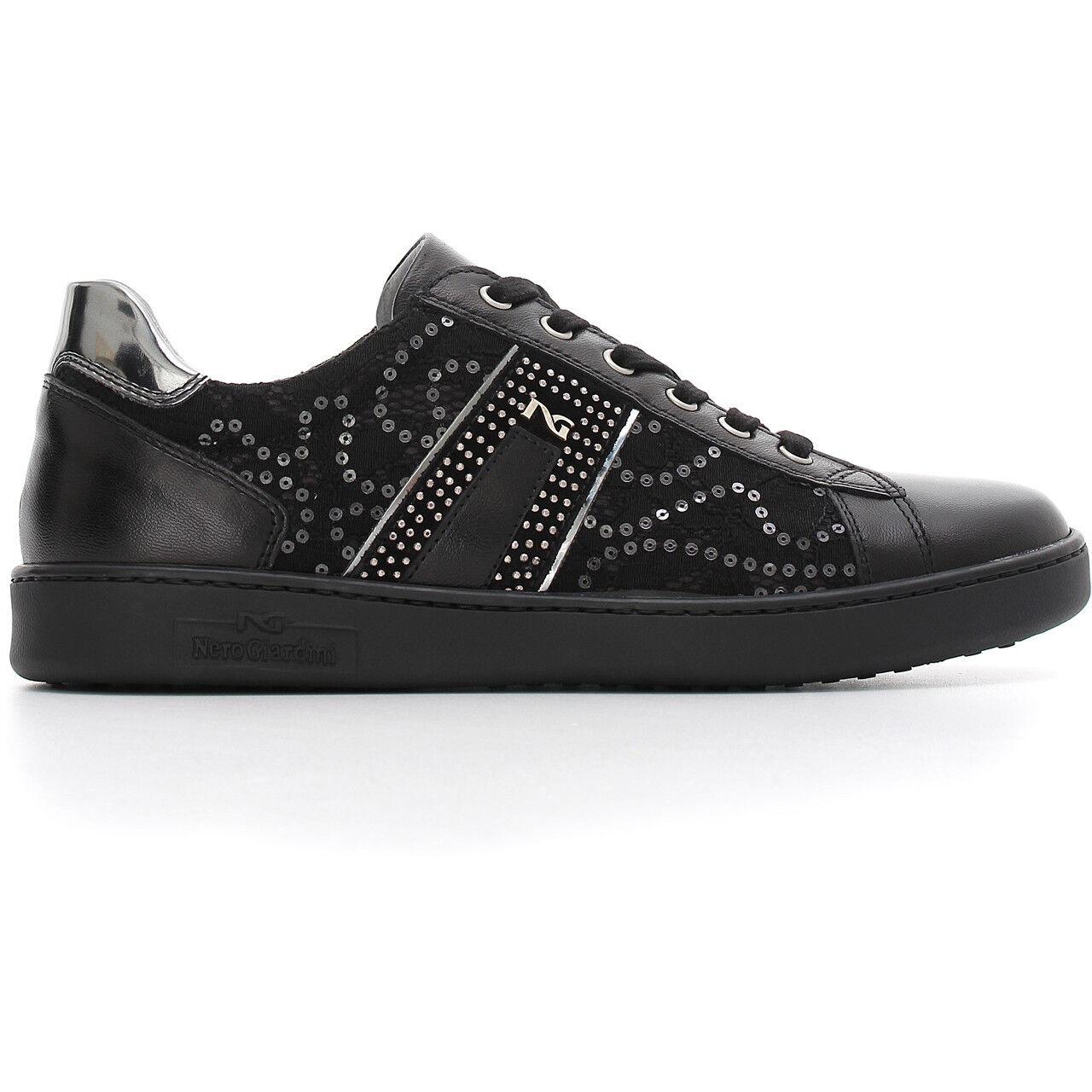 zapatos SPORTIVE  AUTUNNO-INVERNO negroGIARDINI NUOVA COLLEZIONE A806450D A805451D