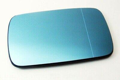 VW SEAT SKODA Right Wing Mirror Glass Blue Heated Aspheric Anti Blind Spot