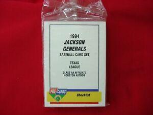 1994-JACKSON-GENERALS-B-ABREU-MINOR-LEAGUE-TEAM-SET-FLEER-PROCARDS-FACT-SEALED