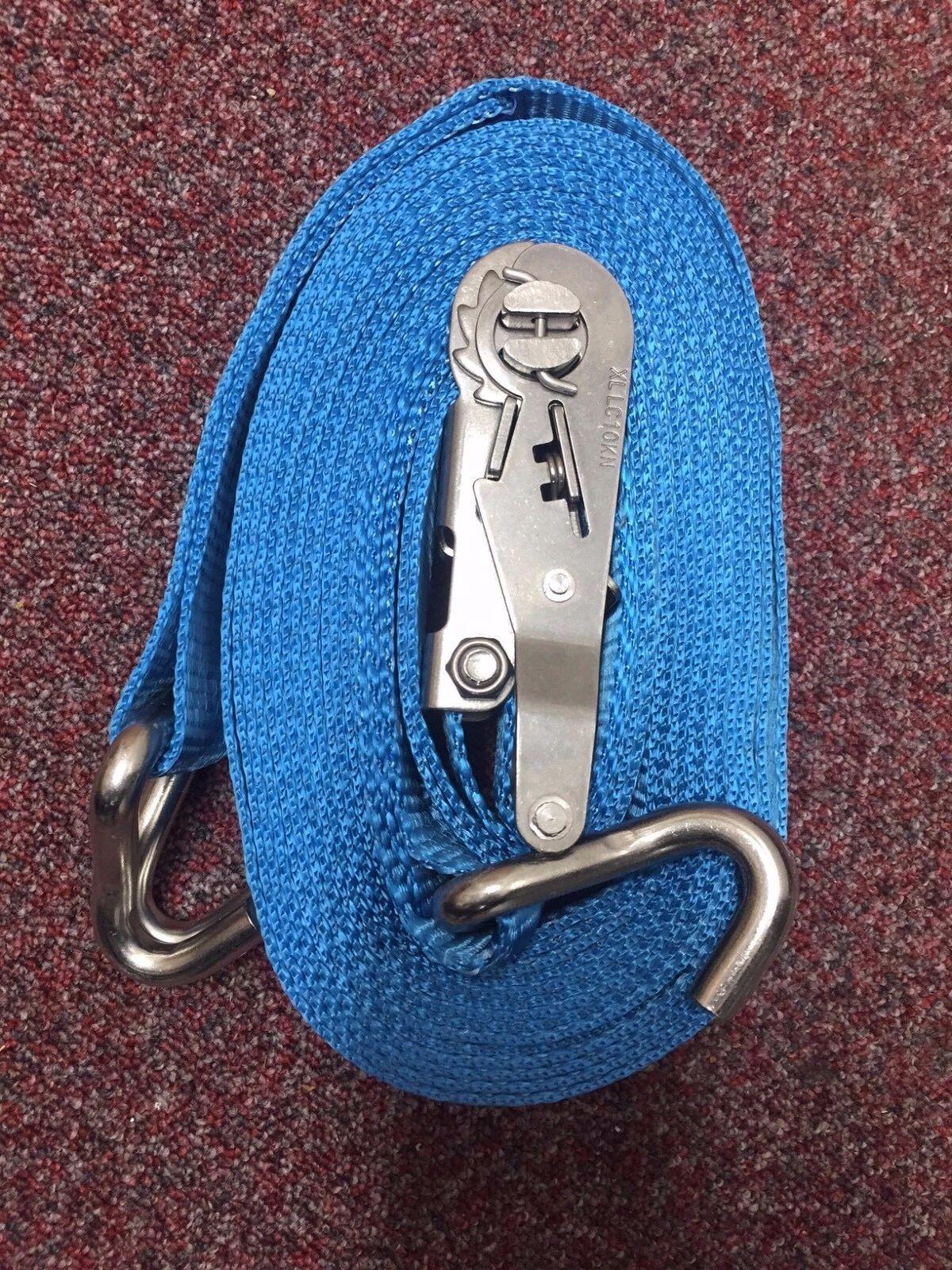 Cinturino cricchetto in acciaio inox - 7 M-NUOVO