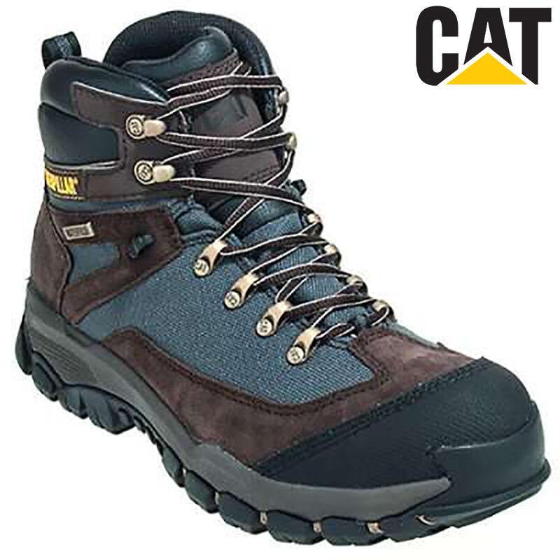 CAT/Caterpillar Knightsen da Uomo Impermeabile sicurezza S1 SRA Stivali di sicurezza Impermeabile e61fe0