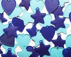 Plastic-Balloon-Weights-8-Gram-Premium-Assorted-Blue-Balloon-Weights-x-25