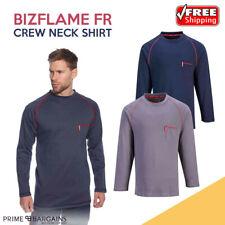 Portwest Flame Resist Anti-Static Long Sleeve T-Shirt