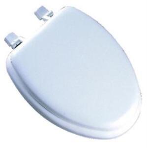 bemis white toilet seat. Image Is Loading Mayfair Bemis White Elongated Deluxe Soft Toilet Seat  113EC000 EBay