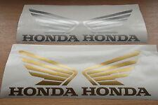 X2 Honda Alas calcomanías Decorativas Vinilo, Moto decalsa