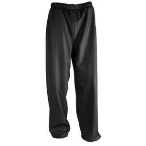 Black Unrated Pants 2XL TINGLEY P67013 Stormflex Rain