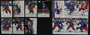 2018-19-Upper-Deck-Columbus-Blue-Jackets-Series-1-amp-2-Team-Set-13-Hockey-Cards