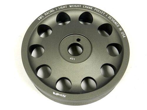 VMS Racing Light Weight Aluminum Crankshaft Crank Pulley 13-14 SCION FRS FR-S