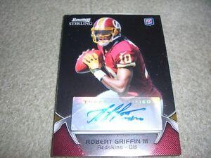 2012-Bowman-Sterling-Football-Robert-Griffin-III-Rookie-Autograph-Card-RG3