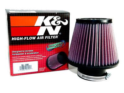 K/&N Universal 2.75/'/' Air Intake Cone Filter 70mm RU-4960 Car//Truck//SUV NEW