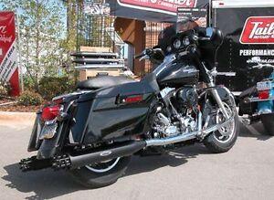 Image Is Loading Tailgunner Exhaust Slip On Lers Harley Davidson Fl