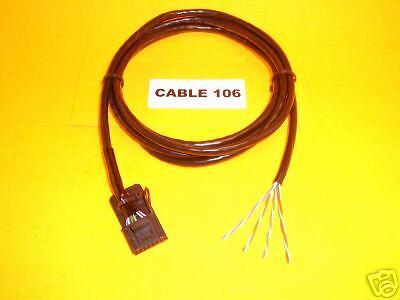 Cable 143 Motorola 16 pin Radius Maxtrac GM300 Repeater