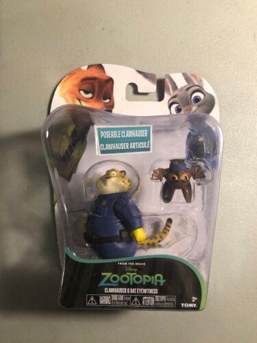 T4 New in package Disney TOMY Zootopia clawhauser bat Eyewitness figures