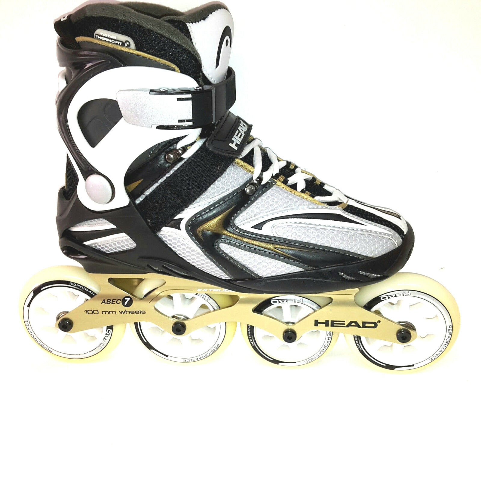 HEAD Inlineskates Training 100 Fitness Skate Gr. 41 41 41 Speedskate 100mm Abec 7  | Authentische Garantie