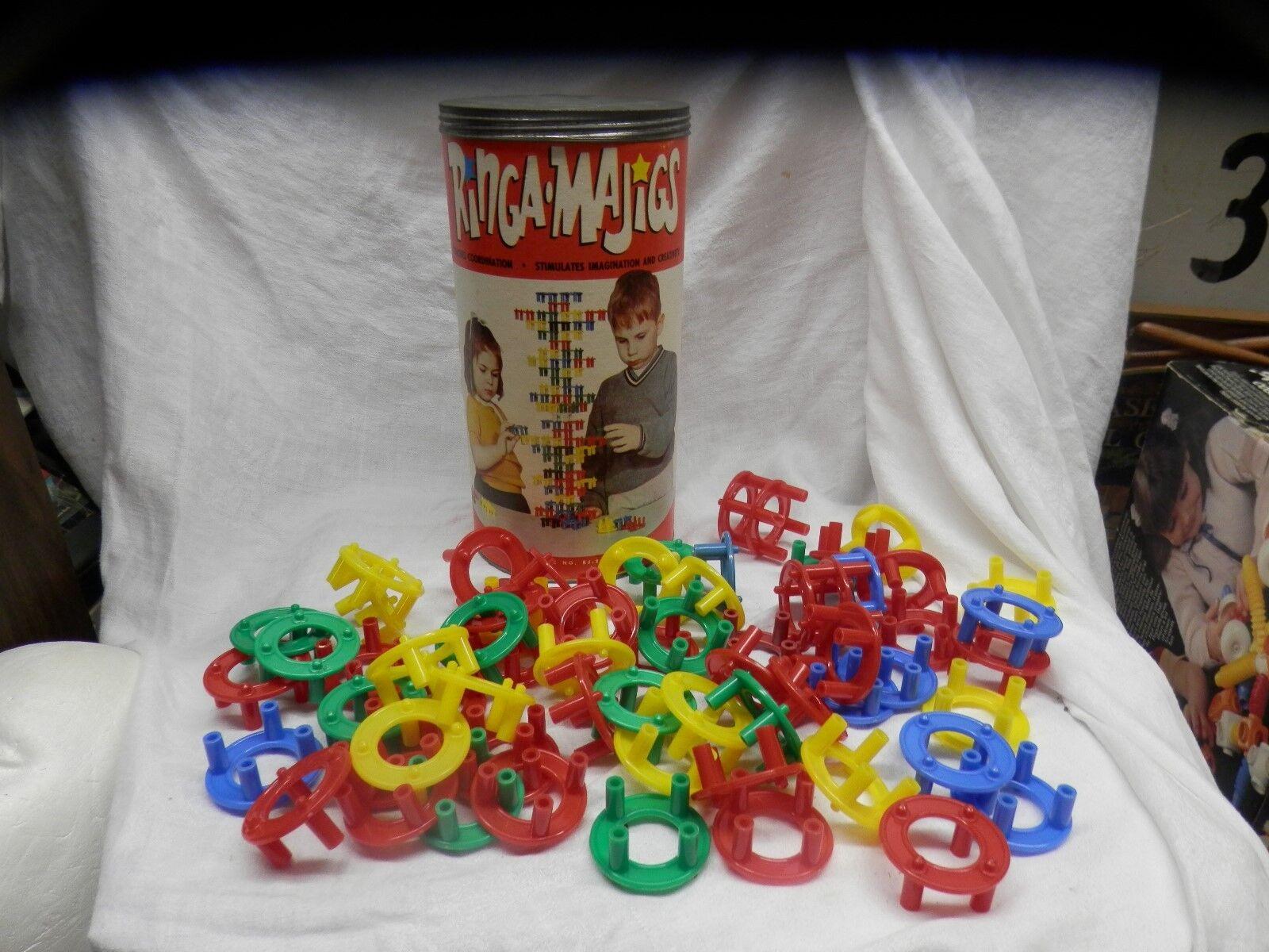 Rare 1960s Ringa Majics Willmar Minnesota molenaar inc building toy vintage cool