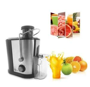 Details about Belaco 600W Juicer machine whole fruit & vegetable Juice Extractor SS body