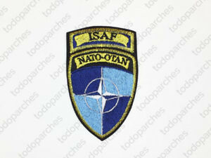 Parche-bordado-ISAF-Nato-Otan