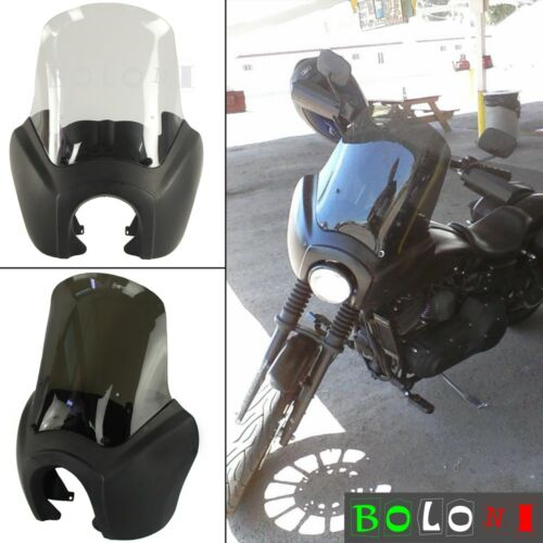 """Motorcycle Front Fairing w//Adjustable 15/"""" Windshield For HD FXDXT T-sport 00-03"""