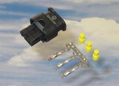 1x Stecker 3C0973203 je 3x MCON Kontakt 3x Dichtungen für PDC VW Audi Seat BMW
