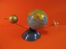 ALL ORIGINAL MS ROTATING EARTH WITH SPUTNIK AND FLYING SAUCER GERMANY 1960