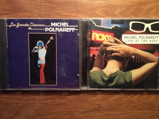 Michel Polnareff [2 CD Alben] Live at the Roxy + Les Grandes Chansons  BEST OF