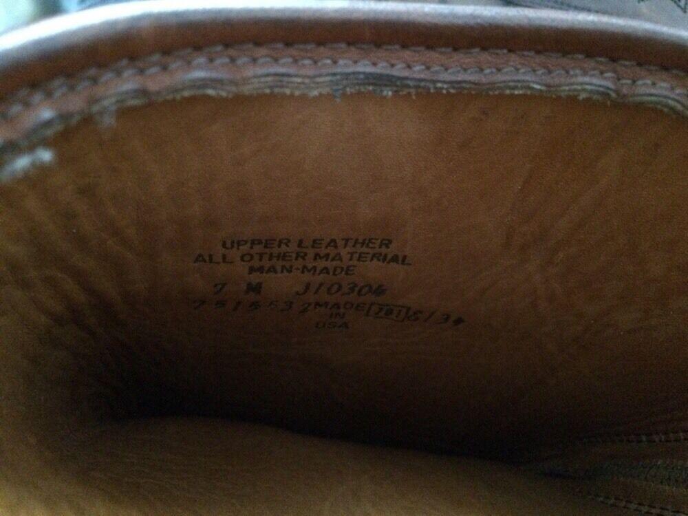 Frye Damenschuhe Damenschuhe Frye Braun Leder Stiefel 7 M ab7479