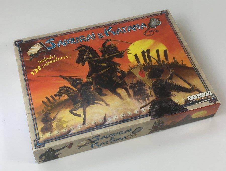 Katana Samurai &   juego de mesa (estrategia guerra) por Tilsit ediciones-Completo