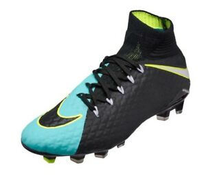 NWT Nike Hypervenom Phatal 3 DF FG Soccer- 881546-400   881546-414 ... 0ca877721e