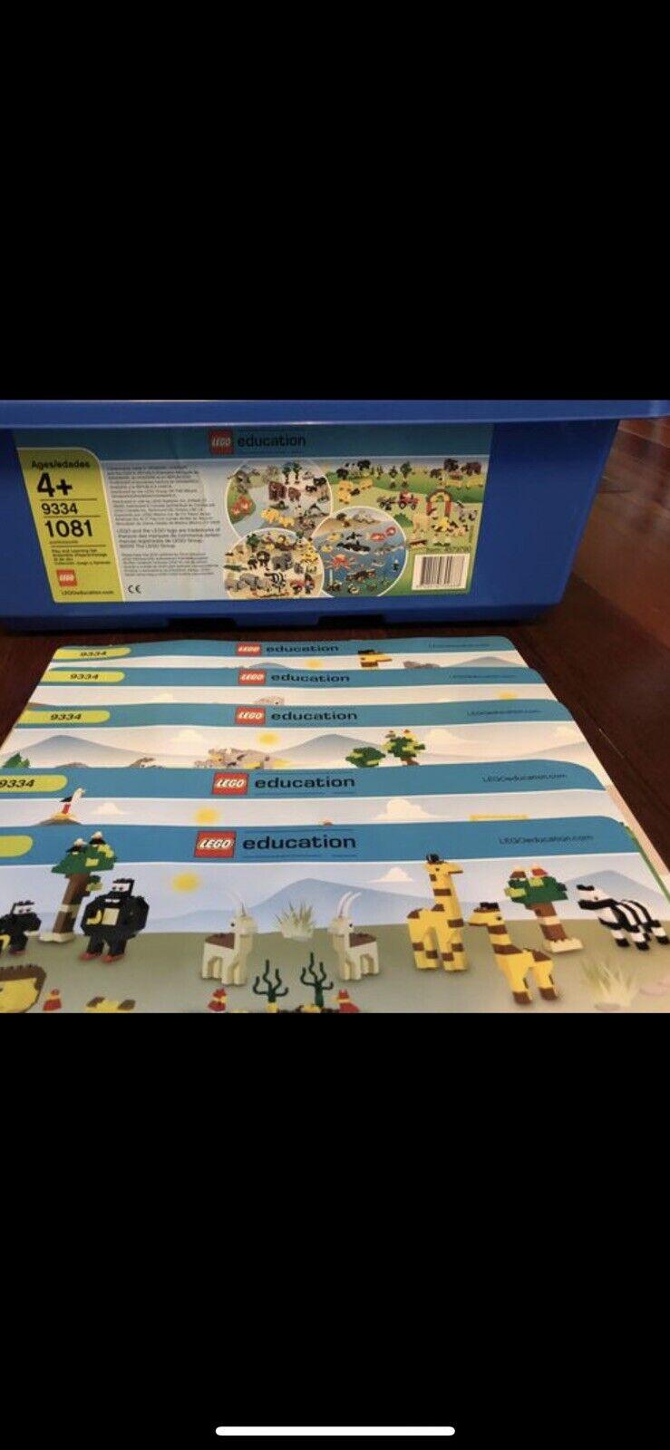 Lego Educational Set 9334 For 1081 Pcs STEM Animals Set