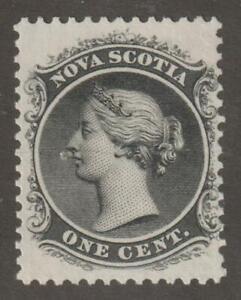Canada-Nova-Scotia-1860-63-8-Queen-Victoria-F-M-no-Gum