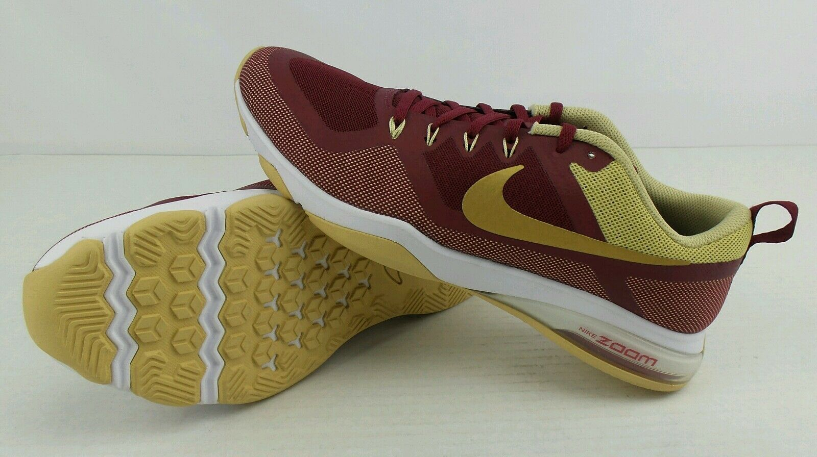 NEW Nike Air Zoom NCAA FSU Florida State Seminoles shoes Size Womens 11.5