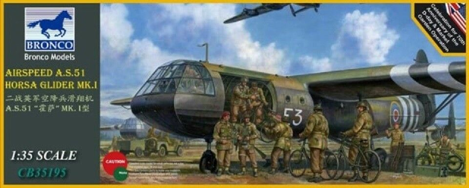 BRONCO CB35195 WWII Airspeed A.S.51 Horsa Glider Mk.1 in 1 35    Neuartiges Design