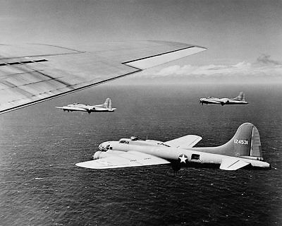 Other Militaria Collectibles Shop For Cheap Wwii B-17 Aircraft In Bombing Formation 11x14 Silver Halide Photo Print