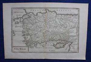 Original-antique-map-ANATOLIA-TURKEY-CYPRUS-039-ASIA-MINOR-039-Cellarius-1799