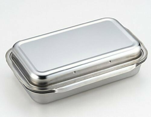 Yoshikawa stainless consolidated bat lid-Ami with 1214740 F//S w//Tracking# Japan