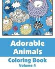 Adorable Animals Coloring Book by H R Wallace Publishing, Various (Paperback / softback, 2013)