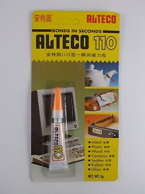 Strongest Super Glue >> Alteco 110 Super Glue One Of Strongest Super Glues Available Ebay