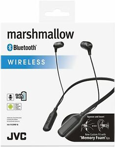 Image is loading JVC-HA-FX39BT -BLACK-Marshmallow-Bluetooth-Wireless-Neckband- beb5c15f0e