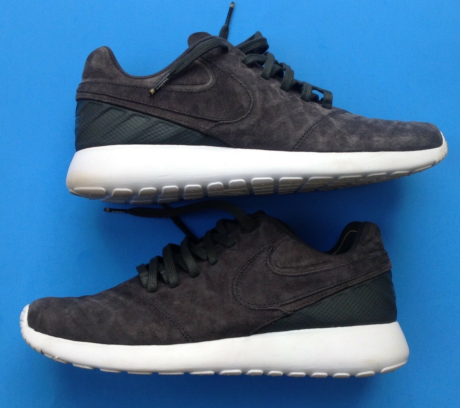NIKE men's Roshe Tiempo VI Casual Lifestyle shoes 10 Anthracite white Free Ship