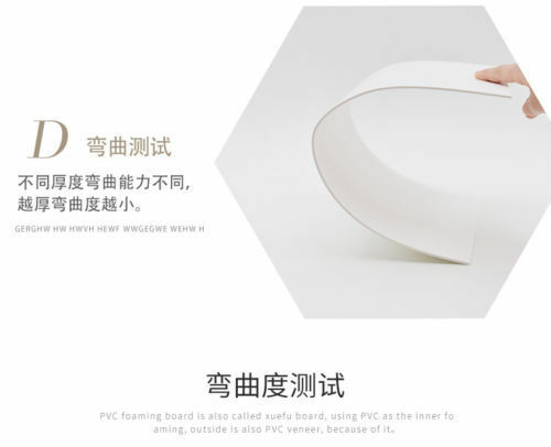 Thick 2-9mm PVC Foam Board Plastic Expansion Sheets Craft Model 20*30cm 30*40cm