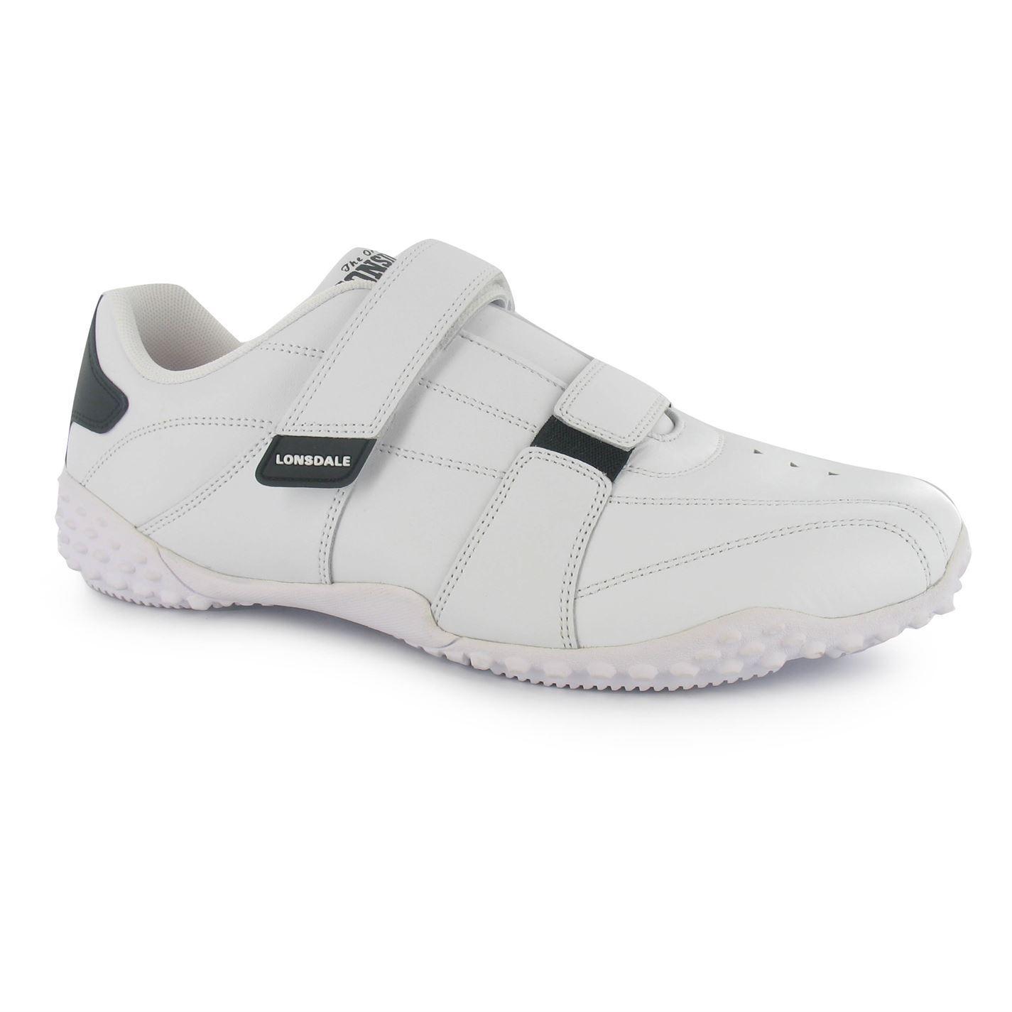 Lonsdale Fulham Zapatillas hombre para hombre Zapatillas Blanco/Negro Informal Tenis Zapatos Calzado 52a135