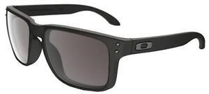 Oakley Herren Sonnenbrille »HOLBROOK OO9102«, schwarz, 910201 - schwarz/grau