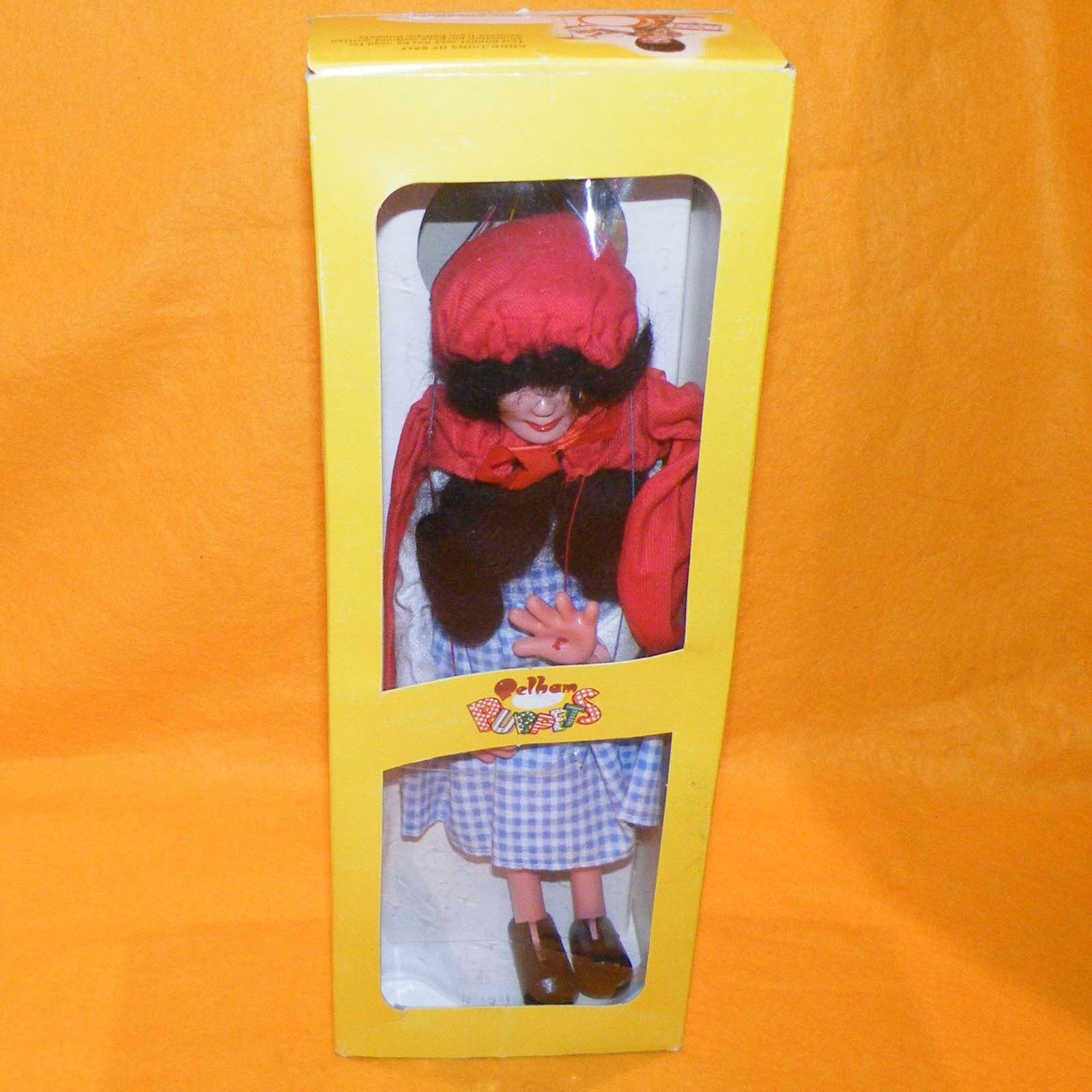 VINTAGE PELHAM PUPPETS RED RIDING HOOD SL11 (SL) HAND MADE PUPPET BOXED
