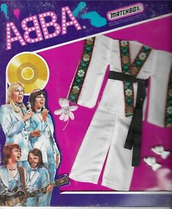 1978 MATCHBOX ABBA 4 ABBA MATCHBOX CLOTHINGSET EXTREMELY RARE!